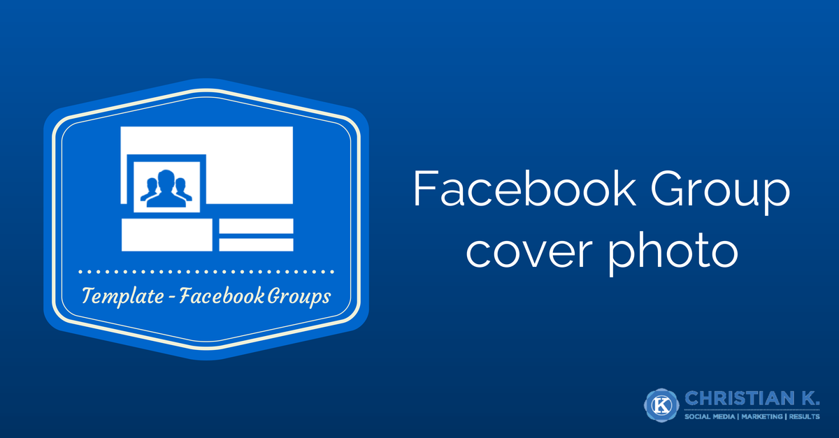 Download: Facebook Group cover photo template