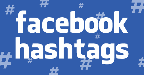 Facebook hashtag usage