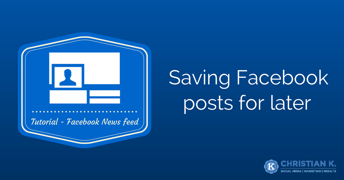 The Definitive guide on using save on Facebook