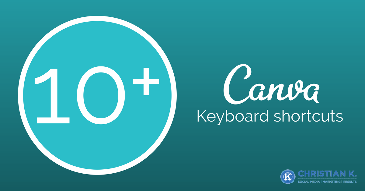 Duplicate a layer in Canva by using these Canva keyboard shortcuts
