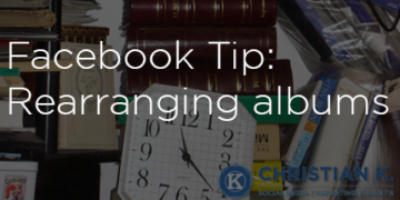 Getting more organized with Facebook photo albums